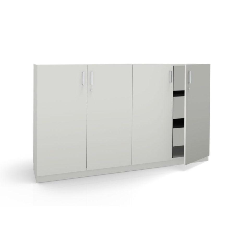 office cupbord hinged doors
