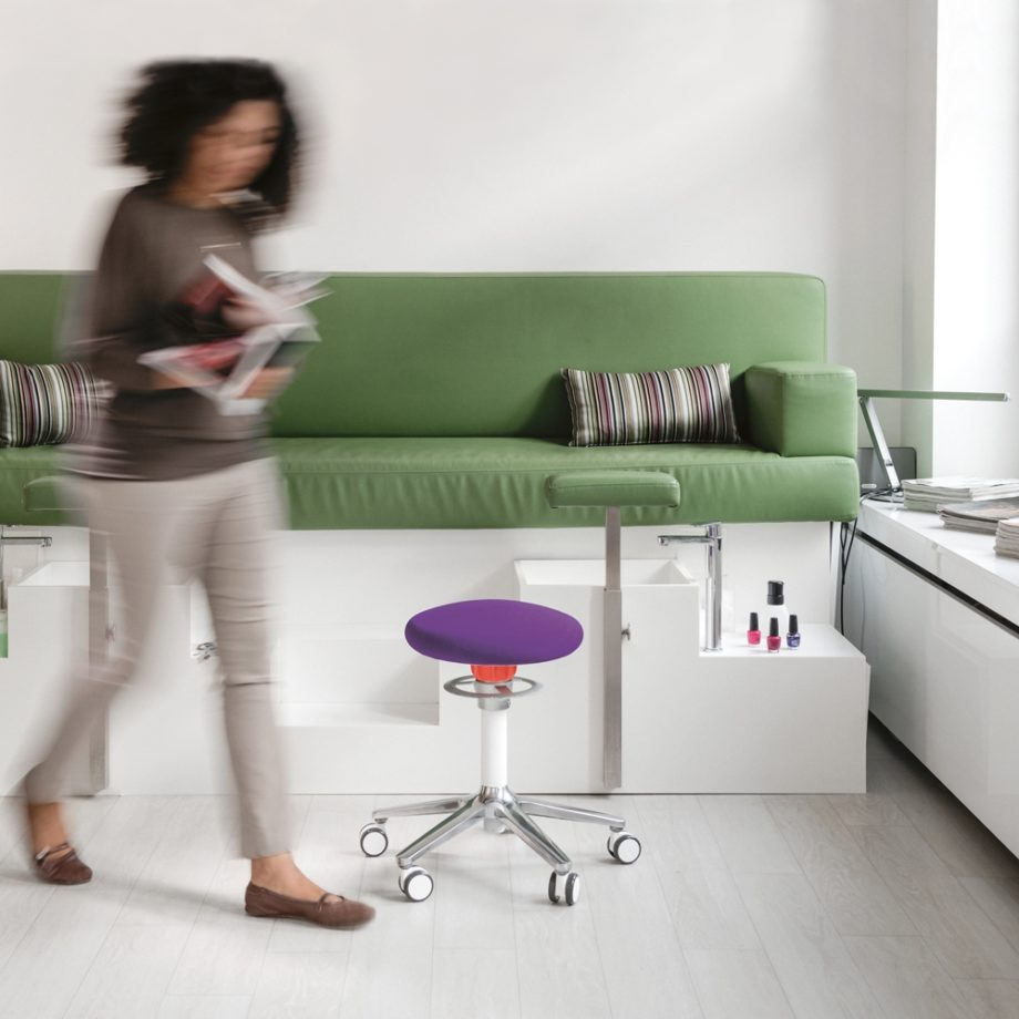 tabouret ergonomique ongo roll