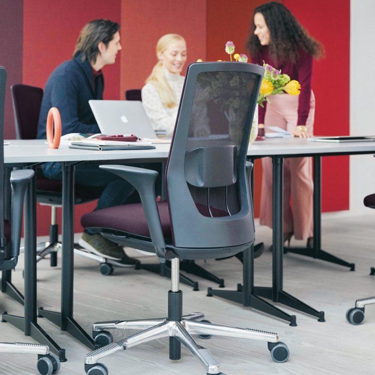 chaise de bureau ergonmique luxembourg hag futu mesh 3 1