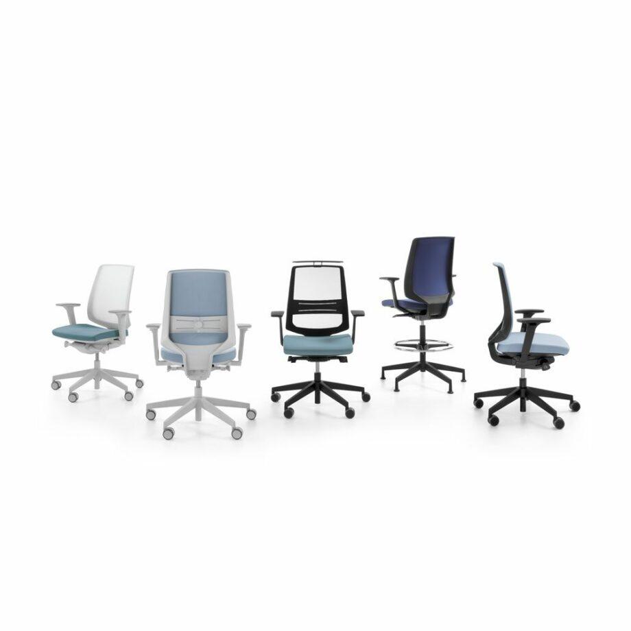 chaise de bureau lightup profim 1