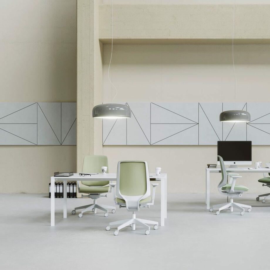chaise de bureau lightup profim 2