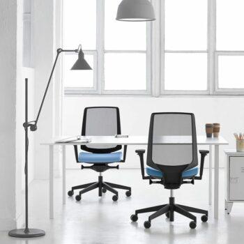 chaise de bureau lightup profim