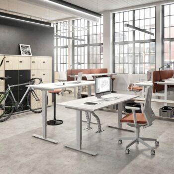 Bureau ergonomique télétravail
