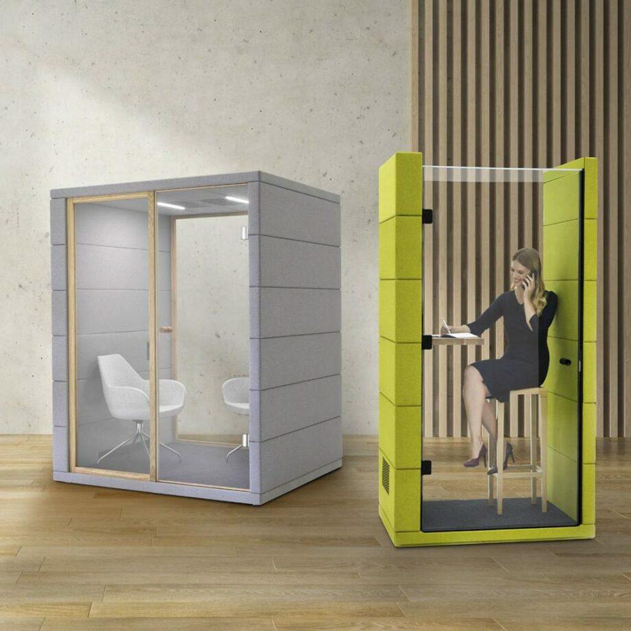 microoffice UNIQ phone booth silentlab