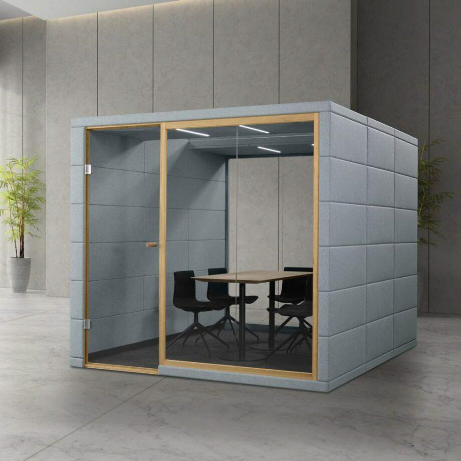 microoffice quadro meeting room silentlab